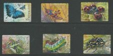1 set 2003 Stamp Collecting Month Bugs and Butterflies S/A (186)