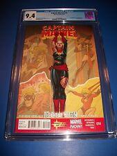 Captain Marvel #14 CGC 9.4 Key 1st Kamala Khan New Ms. Marvel Now Comic Book WOW