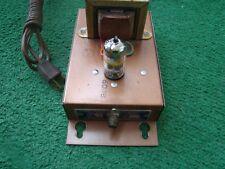 Vintage Fm Tube Amplifier 6D18 Tube For Restore Or Parts