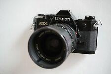 Canon AE-1 SLR Film Camera (Black) w/ Canon 35-70mm Zoom Lens