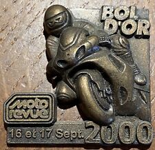 INSIGNE, BADGE - BOL D'OR MOTO 2000 (928) RECHERCHÉ.