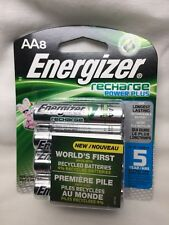 AA Energizer Rechargeable NiMH Batteries, 8/pack or 4/pack (2x) AA8 2300mAh