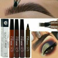 Eyebrow Tattoo Pen Waterproof Fork Tip Patented Microblading Makeup Ink Sketch.