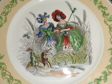 Villeroy And Boch Collectors Plate SPIRIT OF THE FLOWERS - CORNFLOWER AND POPPY