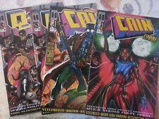 Cain #1 and #2 and Q-Unit #1 (Oct 1993, Harris Comics)