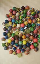 25 Assorted Rubber BOUNCING BALLS - Bouncy Balls- New