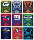 Brand New NFL Teams New Logo Large Soft Fleece Throw Blanket 50