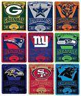 Brand New NFL Teams New Logo Large Soft Fleece Throw Blanket 50