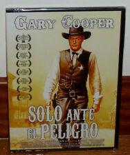 SOLO ANTE EL PELIGRO DVD NUEVO PRECINTADO UNA OBRA MAERSTRA DEL WESTERN R2
