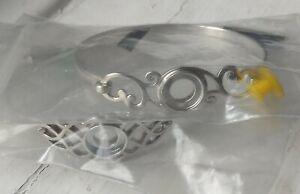 Kameleon jewelpop, 2 bracelets/bangles- KBR014L & KBR, size large, NEW