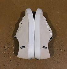 DVS Edmon + Soco White Suede Men's Size 8.5 US BMX DC Skate Vaporcell Insoles