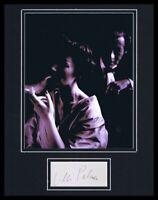 Lilli Palmer Signed Framed 11x14 Photo Display
