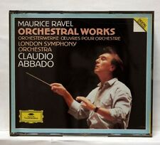CLAUDIO ABBADO - RAVEL orchestral works DGG 3xCDs no IFPI NM