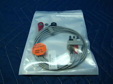 3 Lead Ekg Ecg Snap Type Lead Wire Set Hp Agilent And Philips Compatible