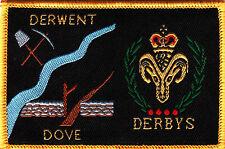 Boy Scout Double Badge DERWENT DOVE/DERBYS