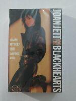 Joan Jett & The Blackhearts- I Hate Myself For Loving You (1988 Cassette SEALED)