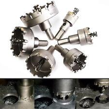 IG_ 6Pcs 22-65mm Carbide Tip Drill Bit Hole Saw Perforation Cutter Set Tool Hot