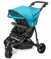 New Out n About little nipper single stroller in Marine blue with pvc & basket