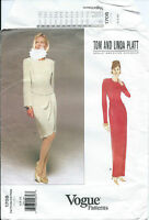 Vogue 1708 sewing pattern Elegant DRESS sew vintage TOM LINDA PLATT sizes 6-8-10