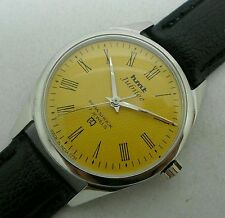 HMT JUBILEE ROMAN NUMBERS 17j. HAND WINDING VINTAGE WATCH~ Dotted Dial