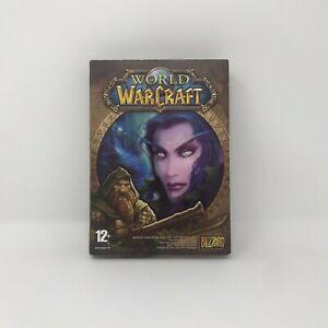 World of Warcraft PC Game Case, Discs, Damaged Manual - Untested