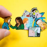 Black Mirror Pins   San Junipero Pins   Lesbian Gay Pride Pins   LGBTQ Pin