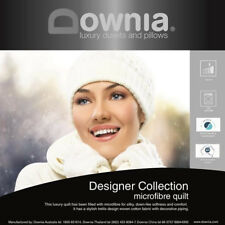 DOWNIA Designer Collection Microfibre Quilt Doona SUPER KING Size RRP $279.95