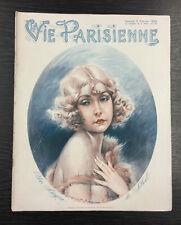 ORIGINAL French La Vie Parisienne Magazine: Art Deco, Women,  2nd February 1929