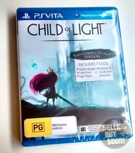 Child Of Light PS Vita ✓NEW ✓AUS VERS ✓Complete Edition PSV PAL PlayStation Game