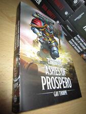 Gav Thorpe ASHES OF PROSPERO 1st/PB MINT Warhammer 40K Space Marine Conquests