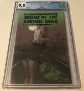 Avatar NIGHT OF THE LIVING DEAD AFTERMATH #10 CGC 9.8 TERROR EDITION VARIANT