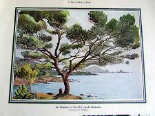 BOULOURIS DRAMONT ILE D OR C PARDINEL TOURISME 39 PUBLICITE ANCIENNE