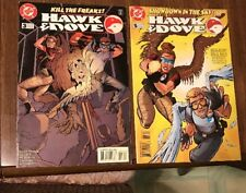 HAWK & DOVE #3 & 5 MAR 1998 DC, FINAL ISSUE , FINE, 2 BOOK LOT