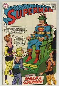 Superman 223 Supergirl 1st Vax-Nor + Kur-Dul + Gor-Nu 1970 DC Comics (j#5282)