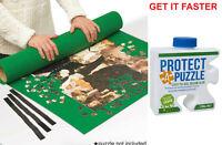 Protect A Puzzle Jigsaw Hinkler Glue 236ml Preserve & Felt Puzzle Mat Combo