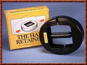 Long Oval ~HAT RETAINER~ Stretcher Plastic Form Cowboy Western Adjustable