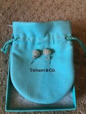 TIFFANY & CO. Sterling Silver Twist Knot Stud Earrings - Pre-Owned/Slightly Used