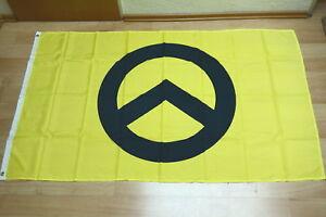 Fahne Flagge Identitäre Bewegung Gelb Pegida - 90 x 150 cm