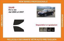pellicola oscurante vetri pre tagliata Saab 9-2x sw dal 2005-2007 kit anteriore