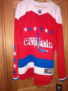 Fanatics Washington Capitals Retro Breakaway Jersey Size 4X Large
