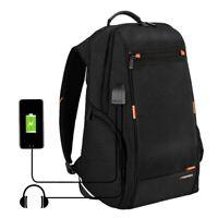 Sac à dos pour ordinateur portable, Port de charge USB externe et pour écouteur