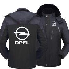 New Opel Sports warm thickness leisure Men rain proof storm jacket Team Race