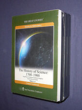 Teaching Co Great Courses CDs        HISTORY OF SCIENCE 1700-1900   new & sealed