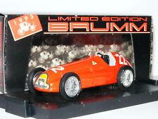 Brumm S021 Alfa Romeo 159 Juan Manuel Fangio 1951 Spanish GP LTD ED 1/43