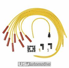 Accel 4040 8mm Amarillo Super Stock Cable De Bujía Universal Set-núcleo de grafito