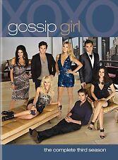 Gossip Girl Complete Season 3 DVD Box Set New Series three R4