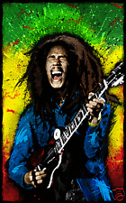 Bob Marley Canvas Art Prints