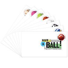 USPS New Have a Ball!  Digital Color Postmark  set of 8