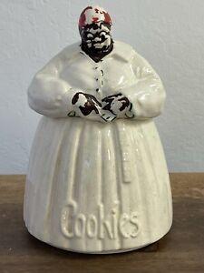 """Vintage Original McCoy Aunt Jemimah Mammie Black Americana Cookie Jar 11"""""""