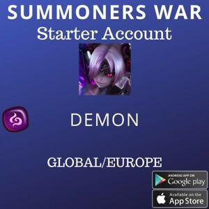 Summoners War Dark Demon Beelzebub Starter Account